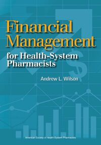 Cover Financial Management for Health-System Pharmacists