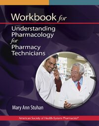 Cover Workbook for Understanding Pharmacology for Pharmacy Technicians