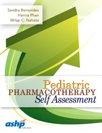 Cover Pediatric Pharmacotherapy Self Assessment