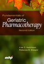 Cover Fundamentals of Geriatric Pharmacotherapy