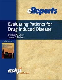 Cover Evaluating Patients for Drug-Induced Disease eReport