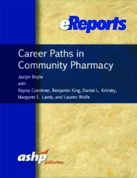 Cover Career Paths in Community Pharmacy eReport