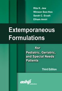 Cover Extemporaneous Formulations for Pediatric, Geriatric, and Special Needs Patients