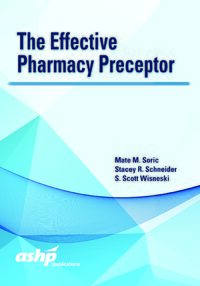 Cover The Effective Pharmacy Preceptor