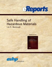 Cover Safe Handling of Hazardous Materials eReport
