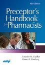 Cover Preceptor's Handbook for Pharmacists
